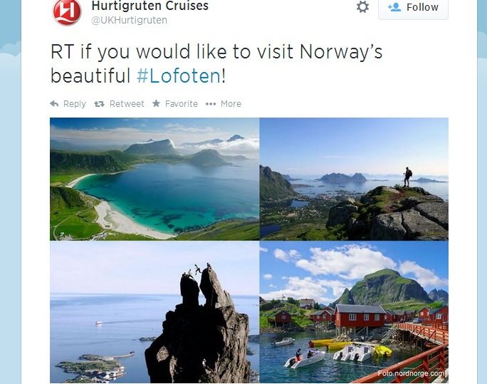 Three Tweets from This Weekend Reflecting Norway's Beauty
