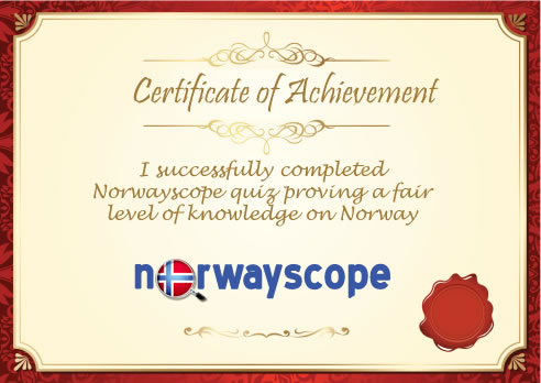 norwayscope achievement