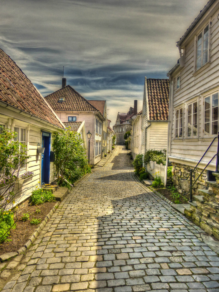 Photo: Mark Freeth | Stavanger definetly has alot to offer you withs its unique residential architecture.