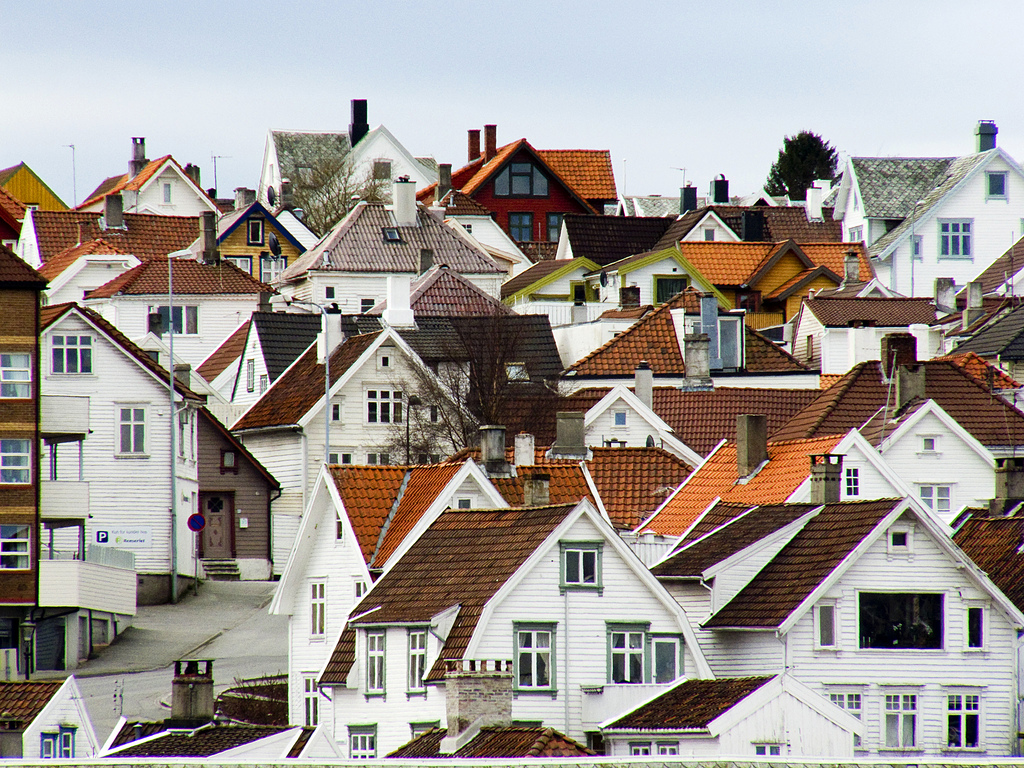 Photo: Angel Torres | Beautiful houses of Stavanger.