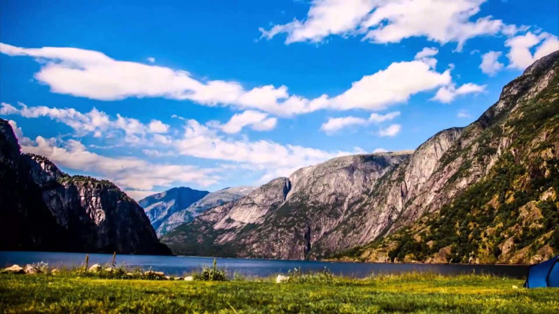 Skyline of Beautiful Norway
