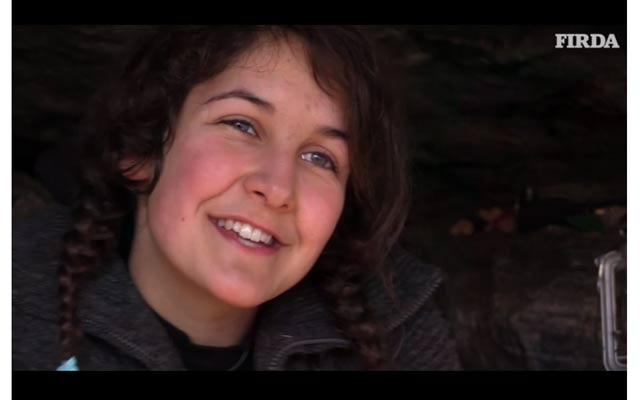 19-Year Old Norwegian Girl Lives in a Cave