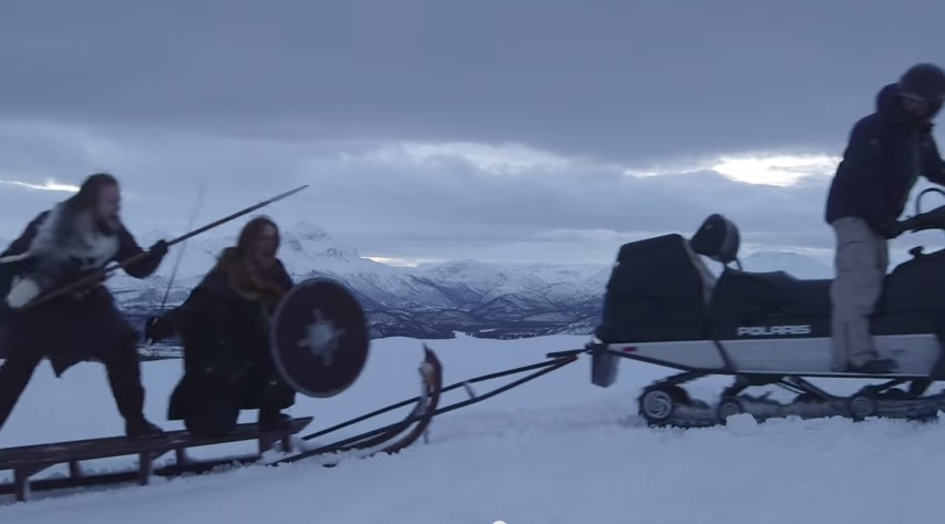 Meanwhile in Norway: Snow Mobiled Vikings