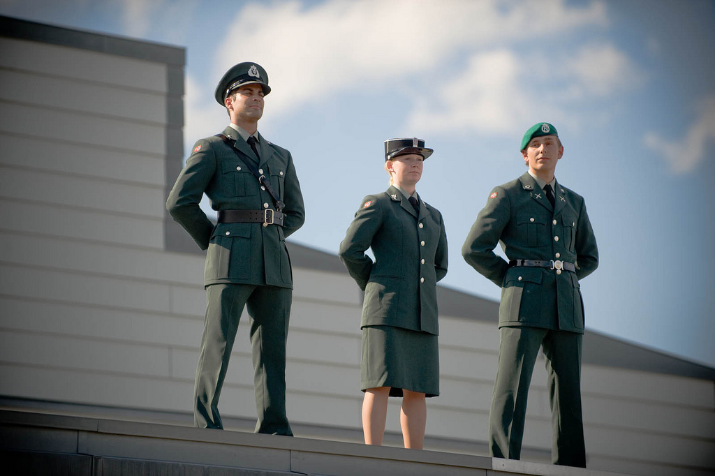 Norwegian Army initiated unisex dormitories