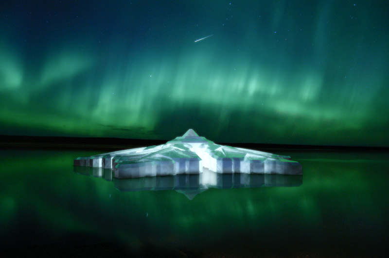 Norway to Be  a Real Dreamland with World's first Floating Snowflake Hotel