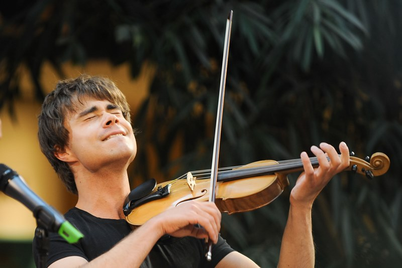 Alexander Rybak plays concert in Nashville, Tennessee