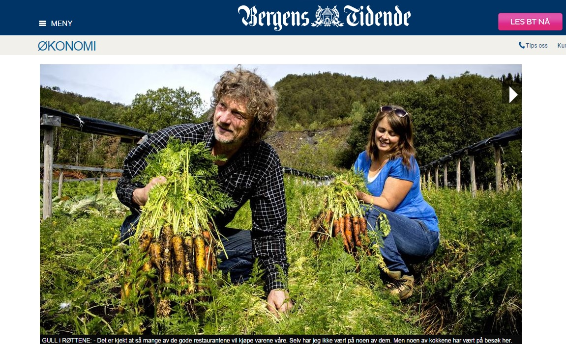This is Norway's Most Expensive Carrot: 100 NOK Per Kilo