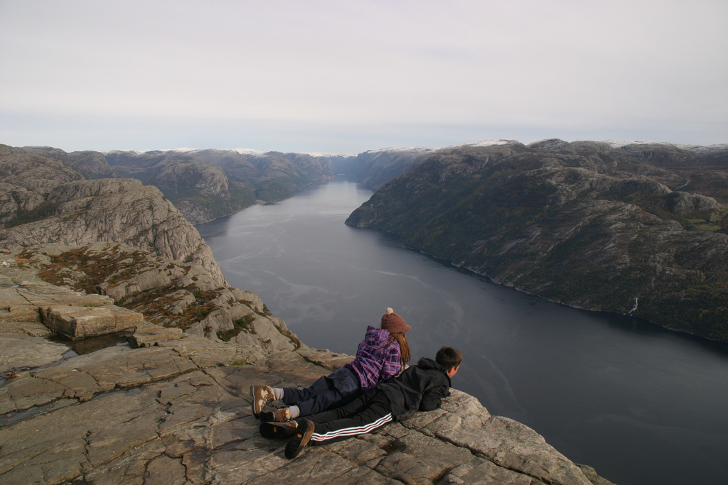 Six Scenes Why Norway's Famous Preikestolen is Awesome