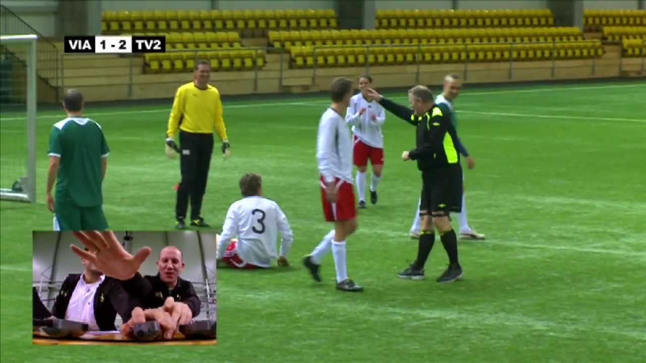This is How Norwegians Play Football: Football with Electric Shock