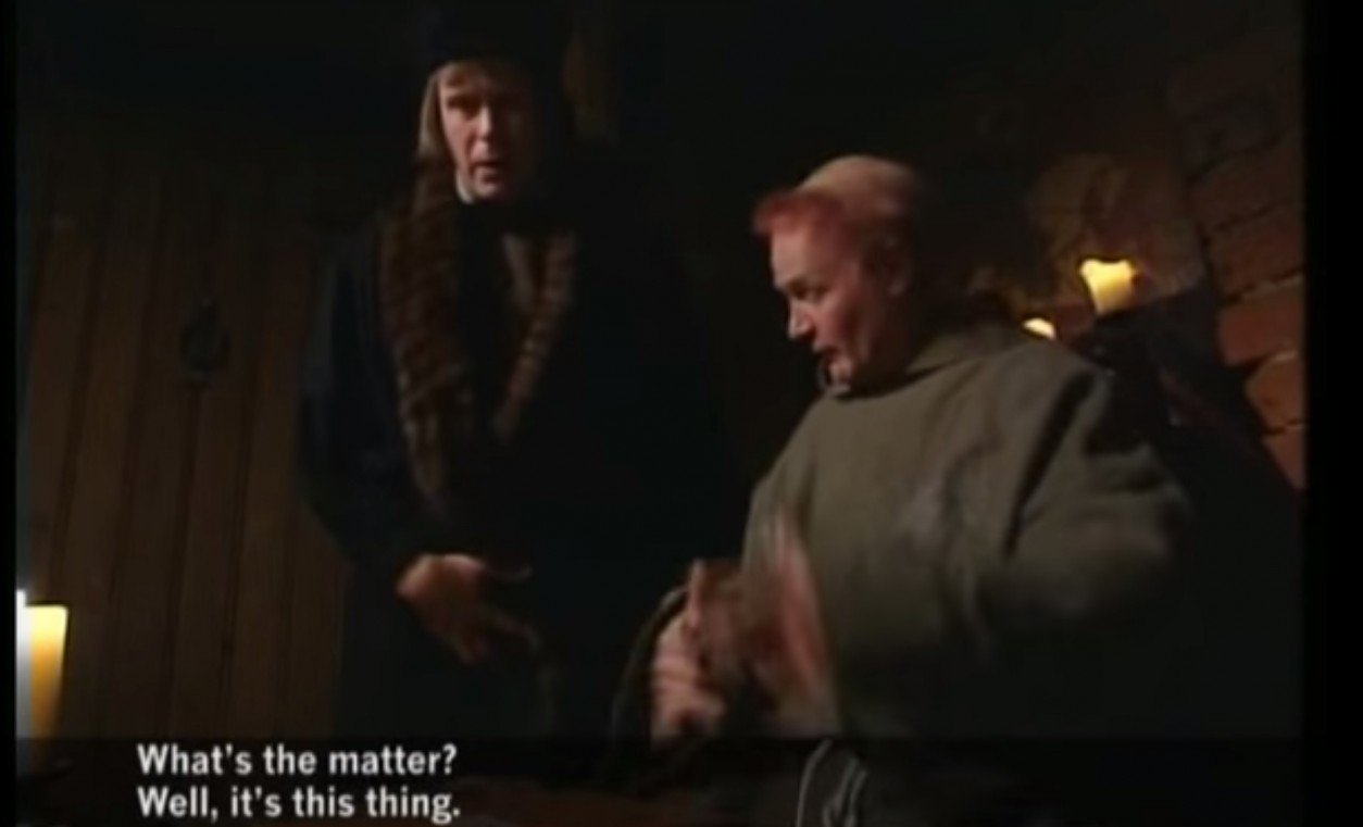 Medieval Helpdesk in Norway with English subtitles