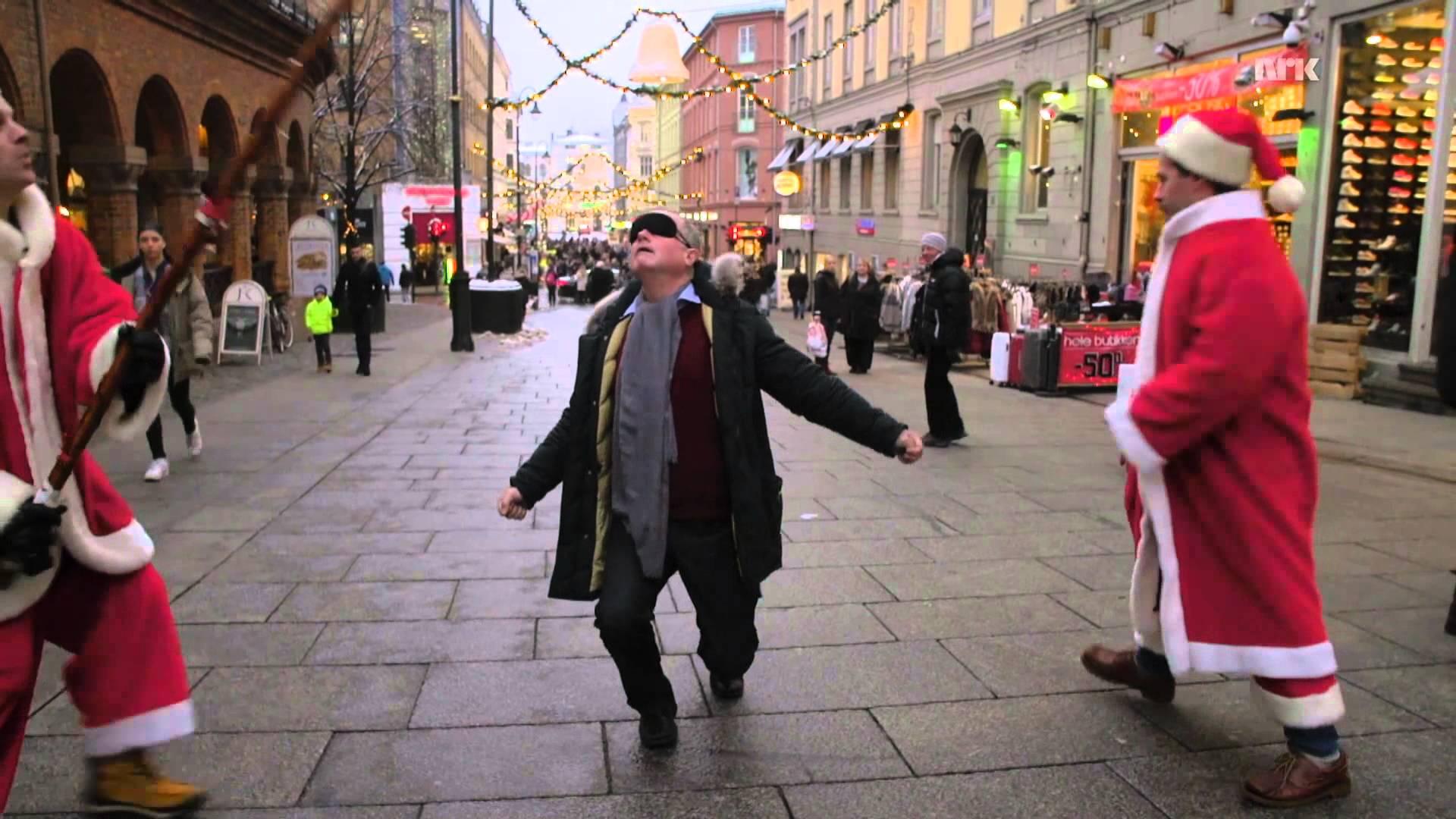 Funny Limbostick Trick in Oslo