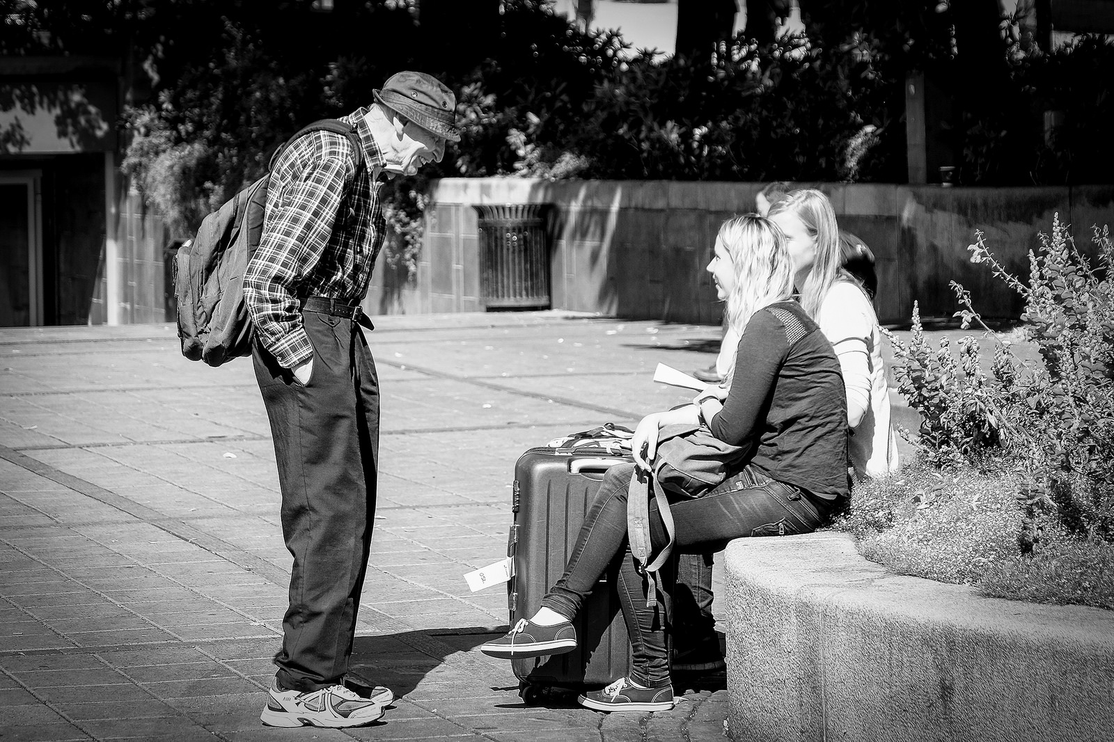 Oslo and Its People in Black and White: Still Beautiful